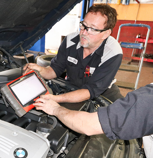 Services auto garage g b langer sainte julie for Garage diagnostic auto